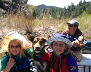 Kayaking and Rafting with kids…a progression
