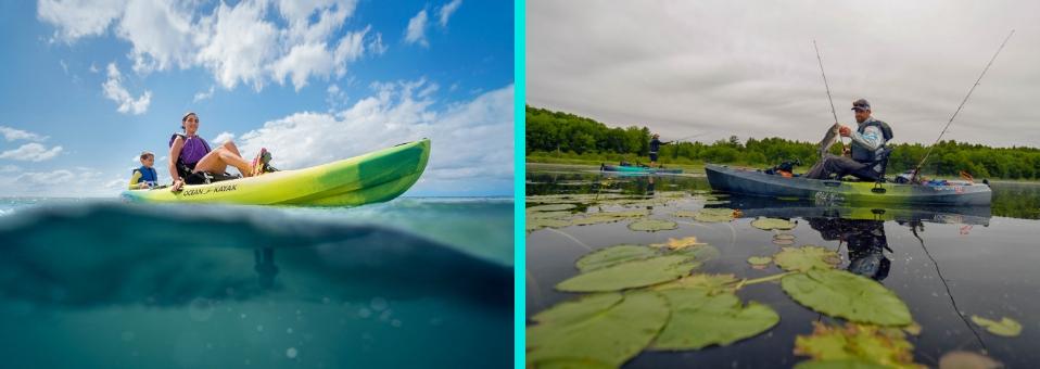 Pedal Drive Kayaks