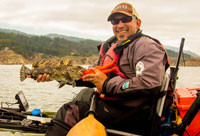 Kayak Rock Fishing – Part II – Saturday, June 6th