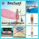 BruSurf Stand Up Paddleboards – Paddler's Package!