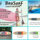 BruSurf Stand Up Paddleboards – Paddler's Package!