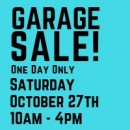 Garage SALE 2018!