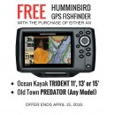 FREE Humminbird GPS Fish Finder
