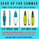 Jimmy Styks Inflatable SUP