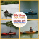 20% OFF Old Town Loon Kayaks!