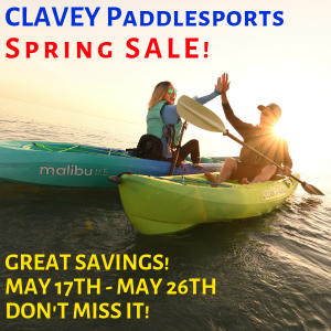 ClaveyPaddlesportsSpringSale2019
