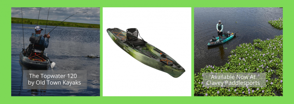 The Topwater 120 by Old Town Kayaks