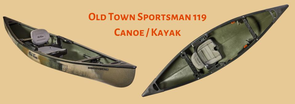 Old Town Sportsman 119 Canoe / Kayak